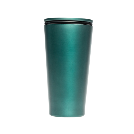 Cup Delux Metal - Forest green