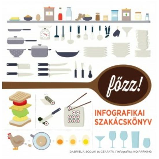 FŐZZ! - Infografikai szakácskönyv - Gabriela Scolik és csapata
