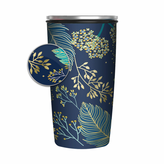 Bamboo Cup Delux - Golden Leaves