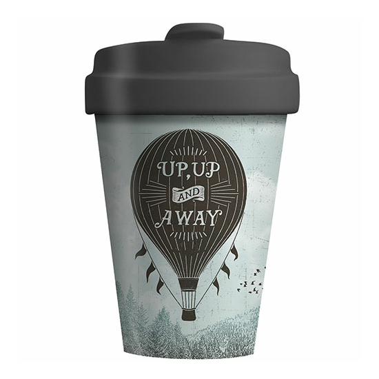 Bamboo Cup - Up and away