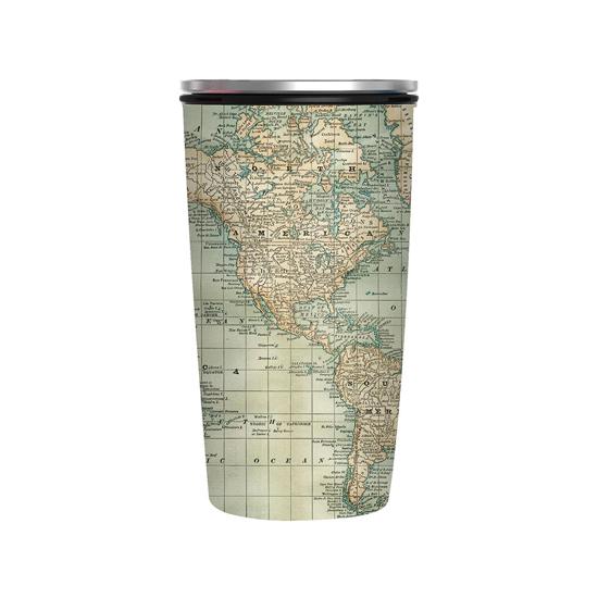 Cup Delux - Antique Map