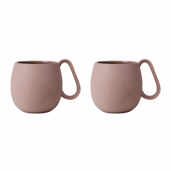 NINA csésze szett - púderbarna